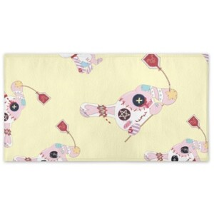 Rabbit.C Bath Towel