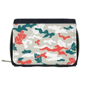 Camouflage Wallet with Coin Purse