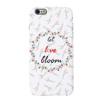 〚LET LOVE BLOOM〛iPhone 6/6s Phone Case FLORAL EDITION