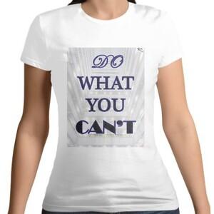 Women 's Cotton Round Neck T - shirt