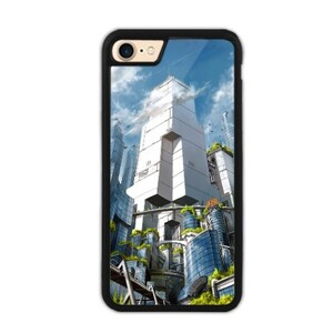 Green City iPhone 7 Bumper Case