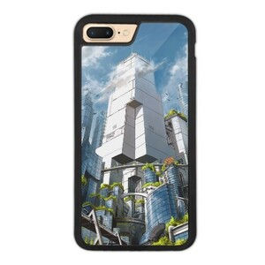 Green City iPhone 7 Plus Bumper Case