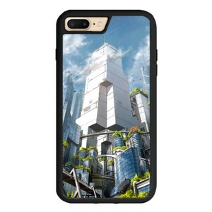 Green City iPhone 7 Plus TPU Dual Layer  Bumper Case