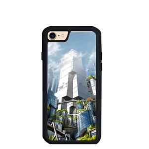 Green City iPhone 7 TPU Dual Layer  Bumper Case