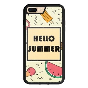 Hello Summer iPhone 7 Plus TPU Dual Layer  Bumper Case