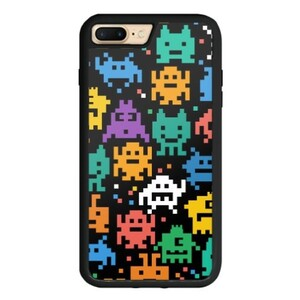 Pixalated Monster iPhone 7 Plus TPU Dual Layer  Bumper Case