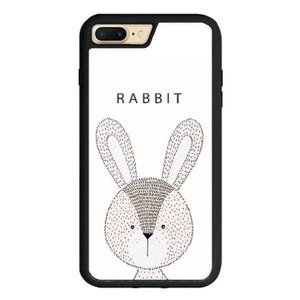 Rabbit iPhone 7 Plus TPU Dual Layer  Bumper Case