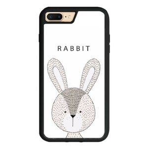 Rabbit iPhone 7 Plus TPU Dual Layer  Bumper Case