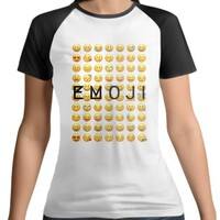 KT EMOJI Women 's Raglan T-Shirt