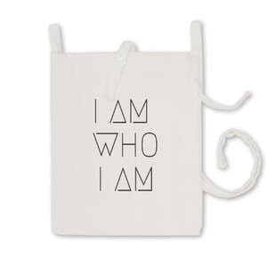 KITSCH_ART [I AM WHO I AM] TOTE BAG