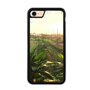 Vietnam Sunset iPhone 7 Bumper Case