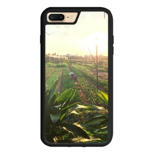 Vietnam Sunset iPhone 7 Plus TPU Dual Layer  Bumper Case