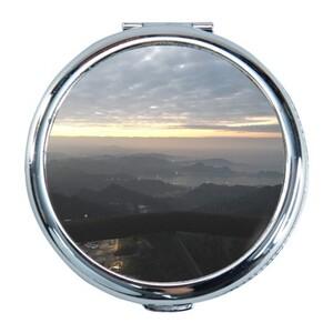 九份山景 Round Compact Mirror (Small)