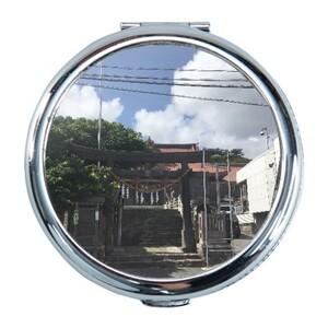 沖繩神社 Round Compact Mirror (Small)