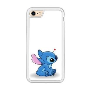Stitch iPhone 7 Bumper Case (White)