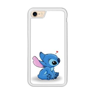 Stitch iPhone 7 Bumper Case (White)