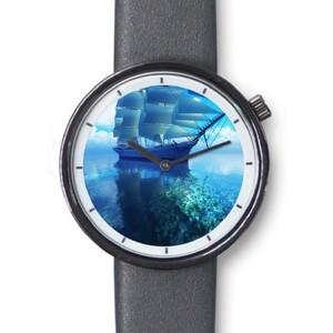 經典仿皮手錶