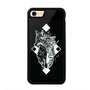 Wolf of my life style iPhone 7 Bumper Case