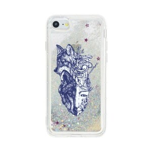 Wolf Of My Life StyleiPhone 7 Liquid Glitter Case