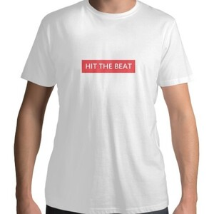 HIT THE BEAT BOX LOGO T