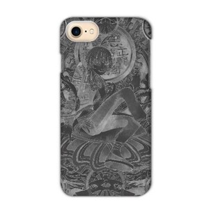 Black thangka iPhone 7 Matte Case