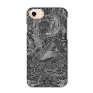 Black thangka iPhone 7 Matte Case