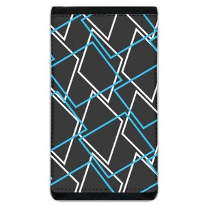 Geometric AE33 Lanyard Phone Case Wallet