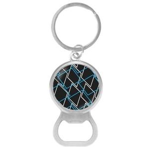 Geometric AE33 Opener Keychain