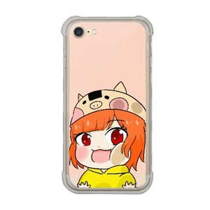 貼貼螢幕 iPhone 7 Transparent Bumper Case