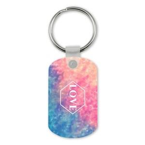 因愛而逆轉 Rectangle Keychain