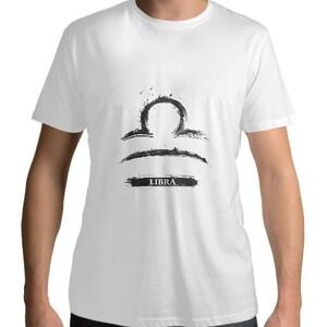 Libra Men 's Cotton Round Neck T - shirt