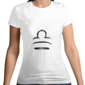 Libra Women 's Cotton Round Neck T - shirt
