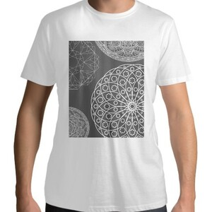 White Mandala T - shirt
