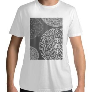 White Mandala T - shirt