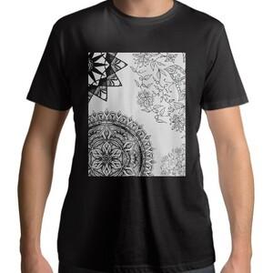 Black Mandala T - shirt