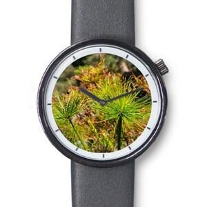 經典仿皮手錶-青草