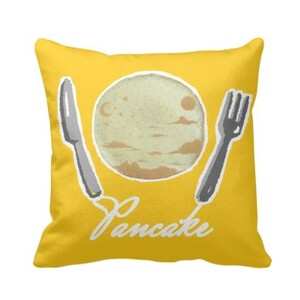 "【Pancake】Pillow 16"" x 16"""