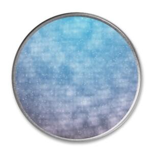 [DDD33] KU3314 Round Metallic Tin