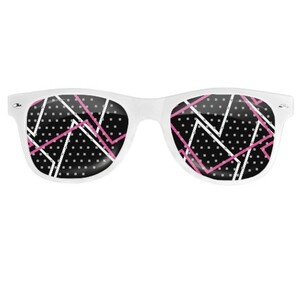Geometric AE48 Party Glasses