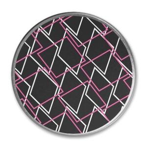 Geometric AE48 Round Metallic Tin