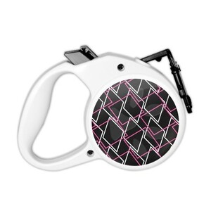 Geometric AE48 Pet Leash with Control Button