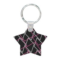 Geometric AE48 Star Shaped Keychain
