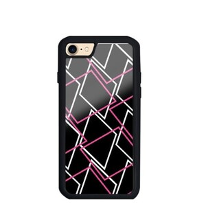 Geometric AE48 iPhone 7 TPU Dual Layer  Bumper Case
