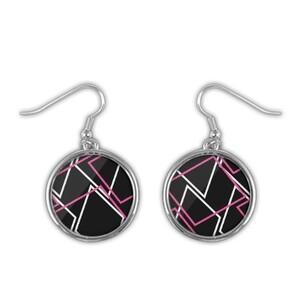 Geometric AE48 Round Earrings