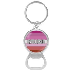 PRIDE Opener Keychain