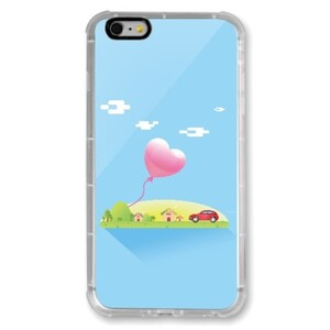 DreamIsland iPhone 6/6s Plus Transparent Bumper Case