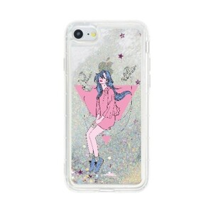 X06 / iPhone7夢想流沙殼 / iPhone 7 Liquid Glitter Case