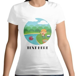 Women 's Cotton Round Neck T - shirt