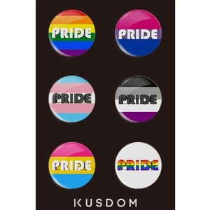 PRIDE Badge Set
