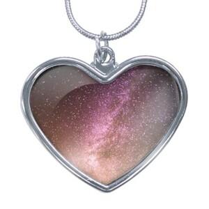 [DDD33] KU3326 Heart Shaped Necklace